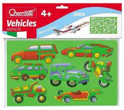Quercetti Rajzsablonok - Járművek