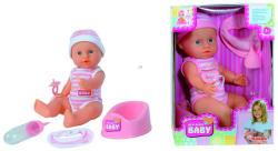 Simba Toys New Born Baby - Pisilős baba kiegészítőkkel - 30 cm