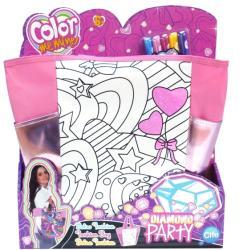Cife Color Me Mine Diamond Party színezhető XL válltáska