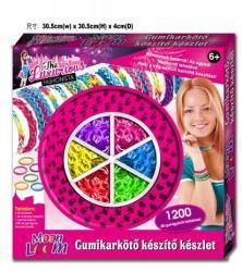 Creative Kids Moon Loom gumiékszer készítő készlet - nagy (1200db)