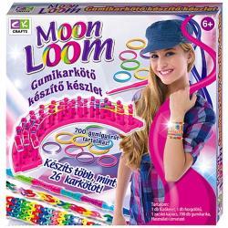 Creative Kids Moon Loom gumikarkötő készítő készlet - kicsi (700db)