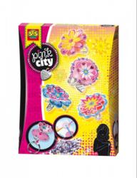 SES Pink city - gyűrű készítő szett