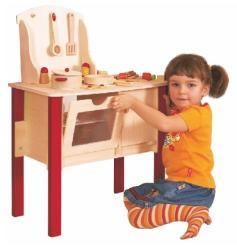 Woodyland Cindy játékkonyha kiegészítőkkel (90050)
