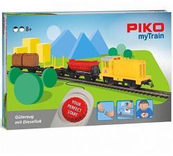 PIKO Dízel tehervonat modellvasút szett 57090