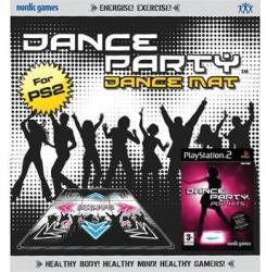 Nordic Games Dance Party Pop Hits [Mat Bundle] (PS2)