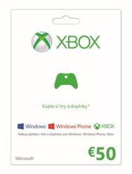Microsoft Xbox Live Card 50 EUR