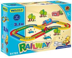 Wader Kid Cars vasútpálya 3,1m 51701