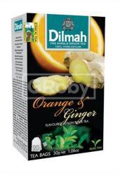 Dilmah Fekete Tea Narancs Gyömbér 20 filter
