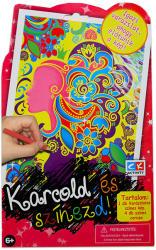 Creative Kids Karcold és színezd - Tündér