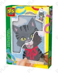 LENA Hímzőkészlet - cica