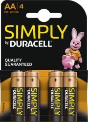 Duracell AA Simply LR6 (4)