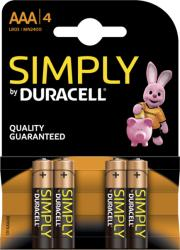 Duracell AAA Simply LR03 (4)