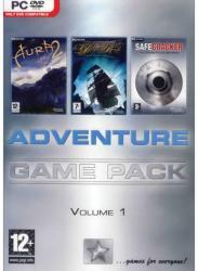 The Adventure Company Adventure Game Pack Volume 1 Aura 2 + Dead Reefs + Safecracker (PC)