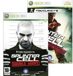 Ubisoft Double Pack: Splinter Cell Double Agent + Splinter Cell Conviction [Classics] (Xbox 360)