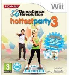 Konami Dance Dance Revolution Hottest Party 3 [Dance Mat Bundle] (Wii)