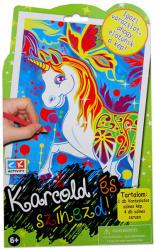 Creative Kids Karcold és színezd - unikornis