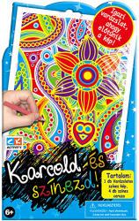 Creative Kids Karcold és színezd - Virág