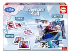 Educa Disney hercegnők - Jégvarázs 4 az 1-ben