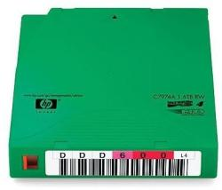 HP LTO4 Ultrium 1.6TB Non-custom Label Cartridge 20 Pack (C7974AN)
