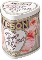 TIPSON For You Zöld Tea Pearl Tejszín És Rózsa 75g szív dobozban