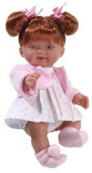 Llorens Lány baba, vörös hajú, boleróban - 26 cm