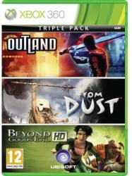 Ubisoft Triple Pack: Outland + From Dust + Beyond Good Evil HD (Xbox 360)