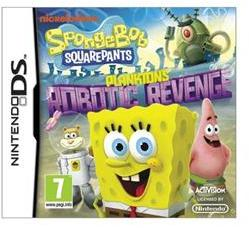 Activision SpongeBob SquarePants Plankton's Robotic Revenge (Nintendo DS)