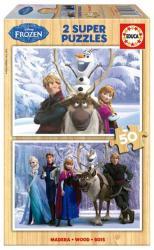 Educa Disney hercegnők: Jégvarázs 2 x 50 db-os (16163)