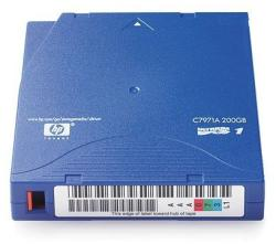 HP LTO1 Ultrium 1 200GB Data Cartridge (C7971A)