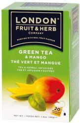 London Fruit & Herb Company Zöld Tea Mangó 20 filter