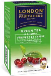 London Fruit & Herb Company Zöld Tea Cseresznye 20 filter