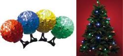 Home KIB 48/M 40 LED-es - gömb, színes