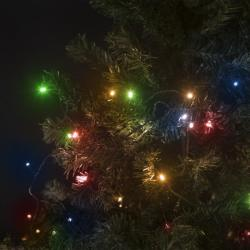 600 LED-es szines égősor - 70m (55221)