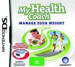 Ubisoft My Health Coach Manage Your Weight (Weight Management) (Nintendo DS)