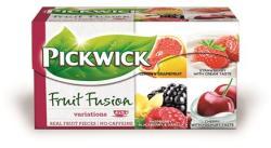 Pickwick Gyümölcstea eper-tejszín citrom-grapefruit vaddmeggy-joghurt málna-szeder 20 filter