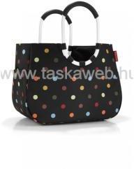 Reisenthel LOOPSHOPPER L dupla fogós, színes pettyes bevásárló táska OR7009