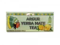 Argur Yerba Mate Tea Citromos 25 filter