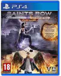 Deep Silver Saints Row IV Re-Elected & Gat Out of Hell (PS4)
