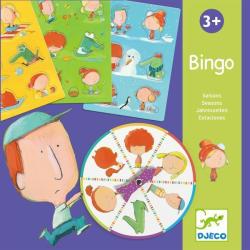 DJECO Bingo Seasons - Évszakok