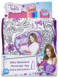 Cife Color Me Mine: Színezhető csillámos oldaltáska - Violetta