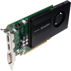 PNY Quadro Kepler K2000 2GB GDDR5 128bit PCIe (VCQK2000-PB)