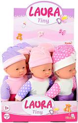Simba Laura Tiny bébi baba 3-féle