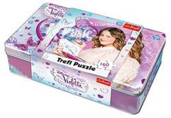 Trefl Fémdobozos puzzle - Violetta 160 db-os (53001)