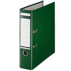 Leitz 180 Iratrendező 80 mm A4 PP/karton élvédő sínnel zöld (E10101255)