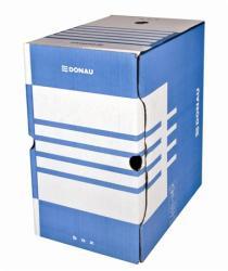 DONAU Archiváló doboz 200 mm A4 karton kék (D76634K)