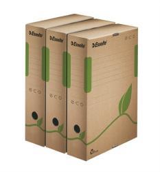 Esselte Eco Archiváló doboz 80 mm A4 karton barna (E623916)