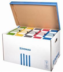 DONAU Archiváló konténer felfelé nyíló kék (D76653K)