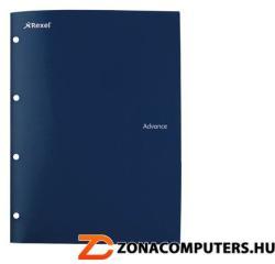 Rexel Advance Irattartó mappa lefűzhető 4 részes A4 PP sötét kék (IDGL2103757)