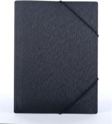 Panta Plast Simple Gumis mappa 15 mm A4 PP metál fekete (INP4105701)