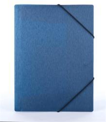 Panta Plast Simple Gumis mappa 15 mm  A4 PP metál kék (INP4105703)